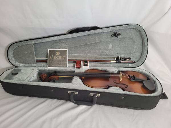 Photo Cecilio MV300 12 Size Violin by Mendini - $85 (Keizer)