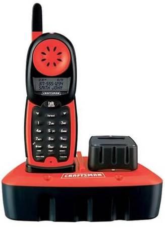 Photo Craftsman Durable Cordless Shop Phone - $50 (NE Salem)