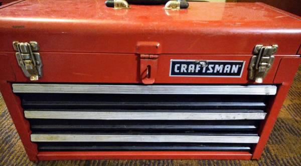 Photo Craftsman tool box full of craftsman tools - $175 (Salem)