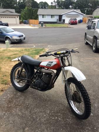 Photo Dt 250 Yamaha Enduro 1975 - $1,500 (West Salem)