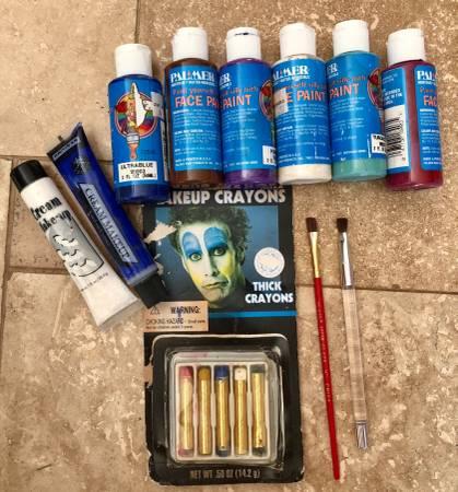 Photo Face Painting Lot - $5 (SE Salem)