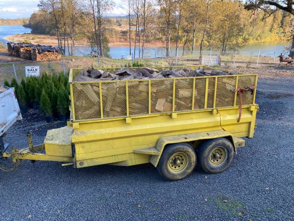 Photo Firewood mix hardwoods fir soft wood mix and emerald green Arborvitaes - $250 (Free delivery Salem and most towns)