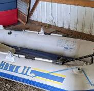Photo Great deal Electric Seahawk heavy duty inflatable boat.. - $200 (Salem)