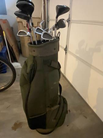 Photo King Cobra Golf Clubs with Bag - $100 (Dallas)