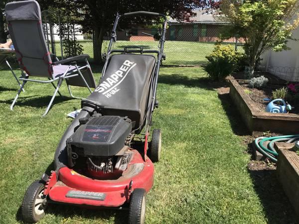 Photo Lawn Mower - Snapper - $125 (Keizer)