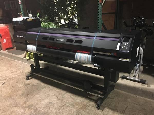 Photo Mimaki UCJV150-160 UV LED Print  Cut Printer RTR 9121526-01 - $11000 (Salem)