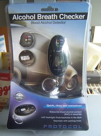 Photo NEW Alcohol Breath Checker - $14 (NE Salem)