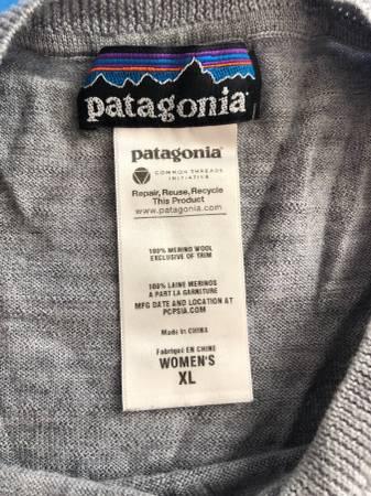 Photo Patagonia Merino Crew Sweater - Women39s Size XL - $60 (SE Salem)