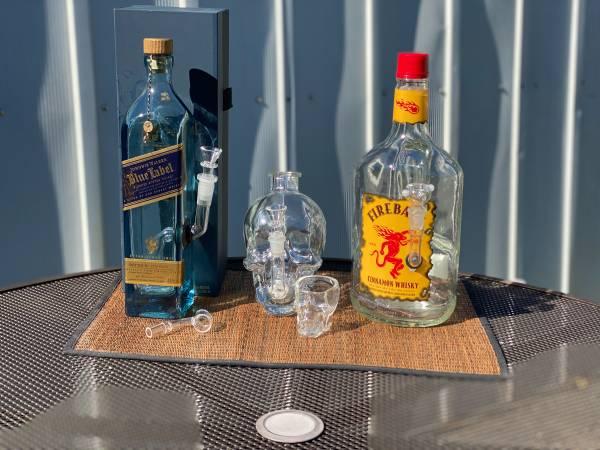 Photo Pick One - Custom Bottle Water Pipe BongsDab Rigs - $60 (Beaverton)