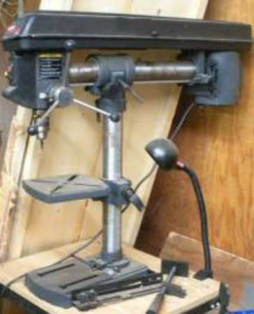 Photo Sears craftsman 34quot radial drill press - $300 (Salem)