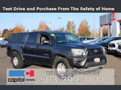 Photo Used 2014 Toyota Tacoma 4x4 Double Cab for sale