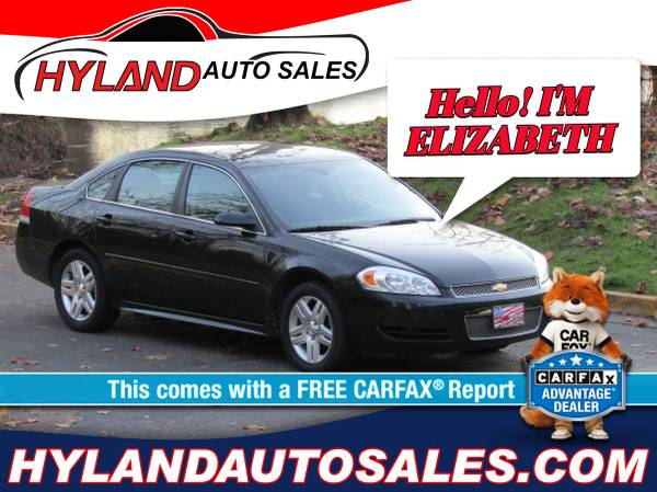 Photo WE ARE OPEN 2014 CHEVY IMPALA ONLY $500 DOWN  HYLAND AUTO SALES (USE YOUR STIMULUS CHECK AS A DOWN ON A NEW RIDE)