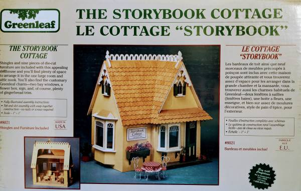 Photo Wooden Dollhouse Kit - The Storybook Cottage - $65 (West Salem)