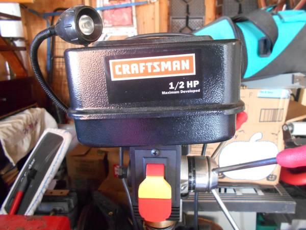 Photo craftsman drill press - $100 (salem)