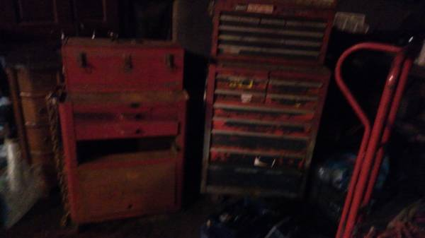 Photo craftsman tool boxes - $100 (falls city)