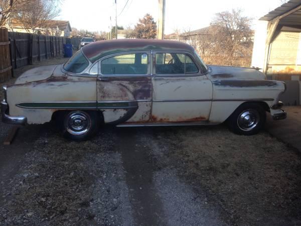 Photo 1954 Chevy BelAir 4-Door Only $900 - $900 (Hays, KS)