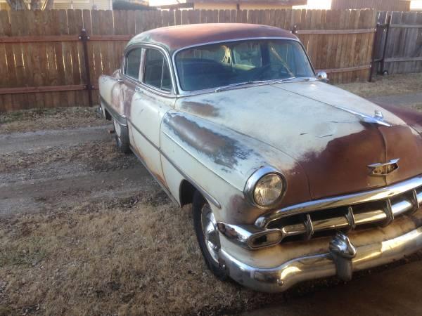 Photo 1954 Chevy BelAir 4-Door - $1200 (Hays, KS)