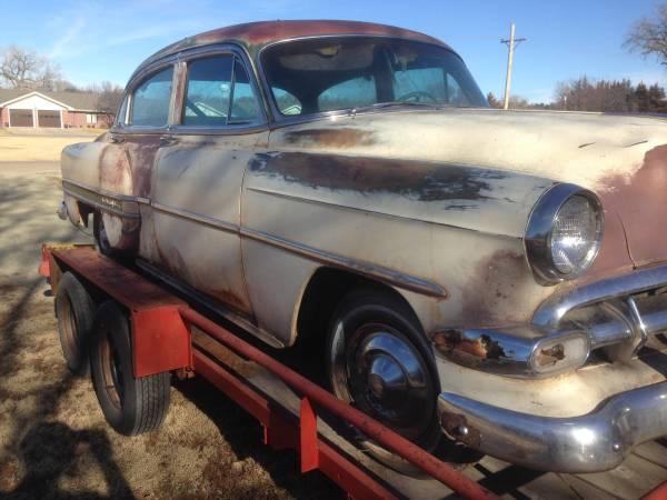 Photo 1954 Chevy BelAir 4-Door - $1750 (Hays, KS)