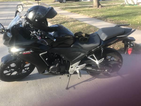 Photo 2013 Honda CBR500R (black) - $2,500 (Hastings)