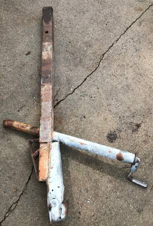 Photo 2 12quot Trailer Tongue with Jack - $40 (NW Lincoln)