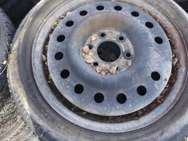 Photo 6-Lug Temporary Spare tires and rims - $15 (Salina)