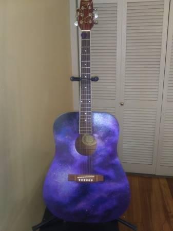 Photo Acoustic Washburn Guitar - $100 (Wichita)