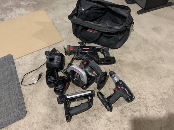 Photo Craftsman 19.2 volt Power Tool Set - $150 (Salina)