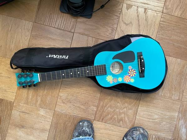Photo First Act Acoustic Guitar - $20 (Lincoln)