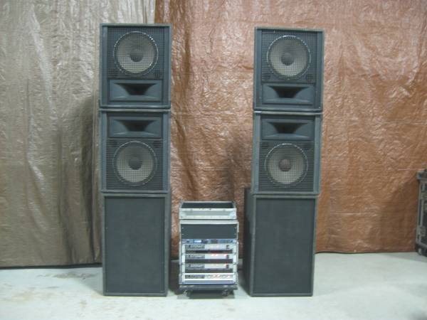 Photo Pro PA  JBL Crown dbx Manifold Subs - $5,000 (Omaha Demo. Pick Up. Cash only.)