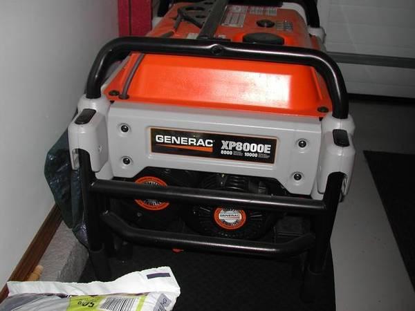 Photo XP8000E Electric Start Portable Generator - $1,600 (Lindsborg)