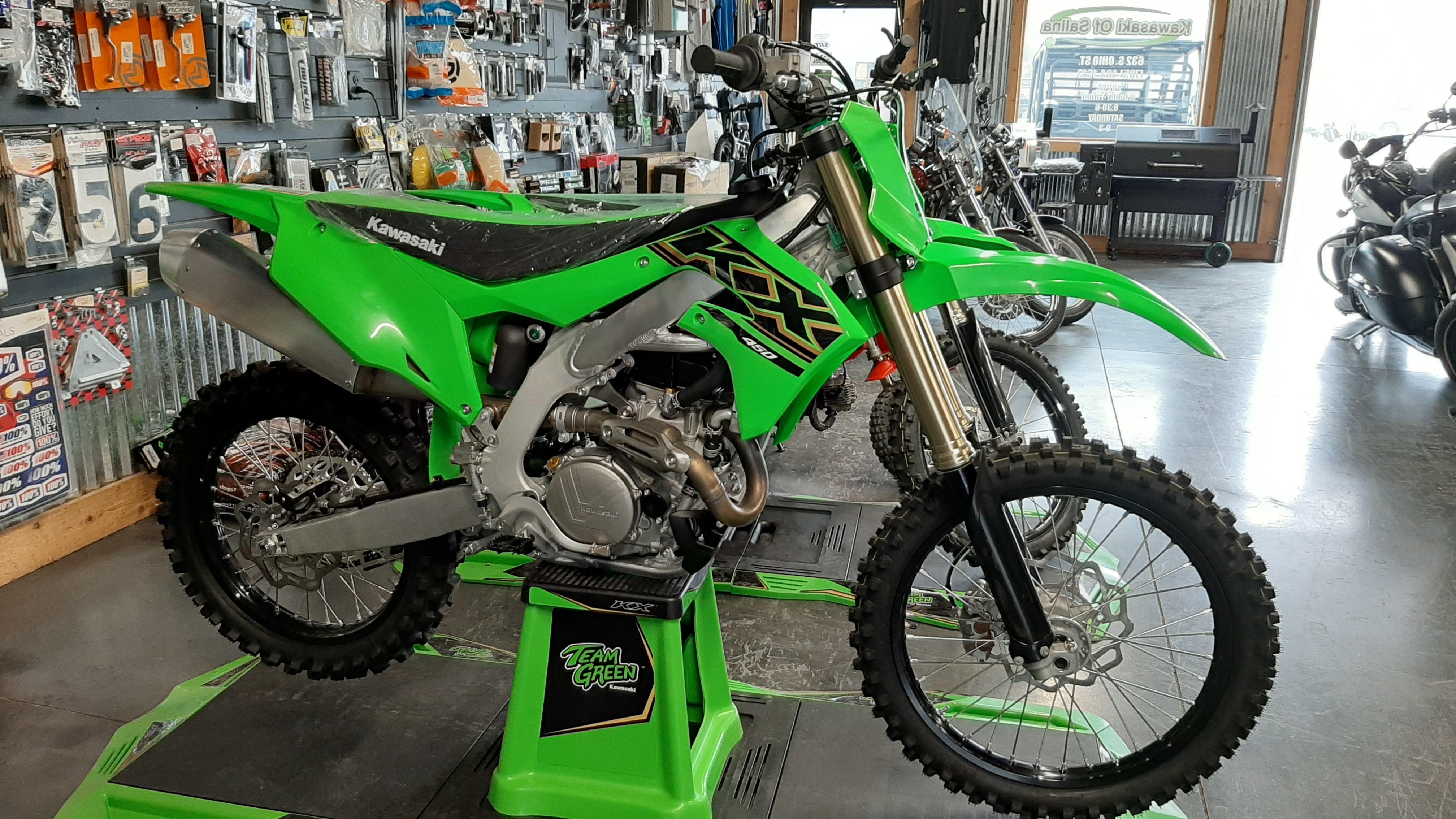 Photo 2021 Kawasaki KX 450 $9399