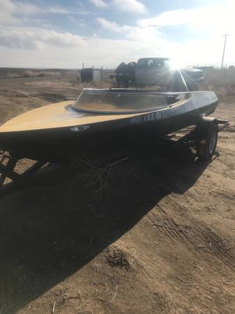 Photo 1958 sidewinder classic jet boat for sale - $2,500 (Jerome)