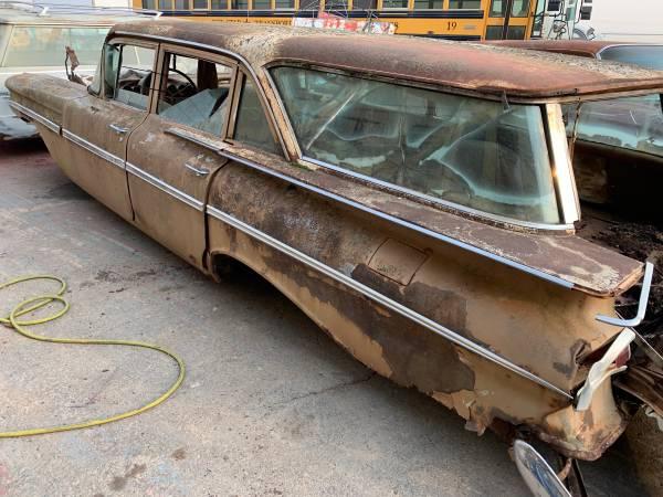 Photo 1959 Chevy Impala Station Wagon Parts Cars - $3,500 (Salt Lake City)