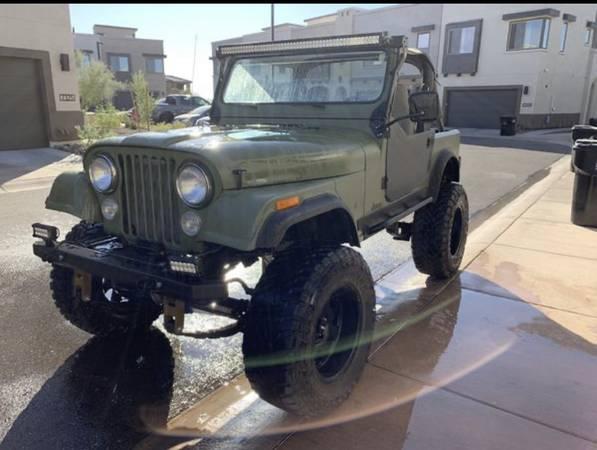 Photo 1985 Jeep CJ - $10000 (Phoenix)