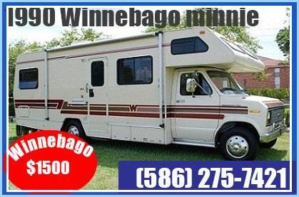 Photo 1990 Winnebago Class B motorhome. - $1,500 (salt lake)