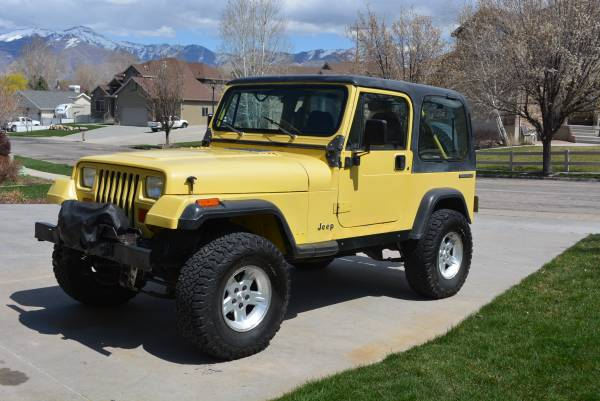 Photo 1991 Jeep Wrangler Excellent Mech. Cond. - $6000 (TOOELE)