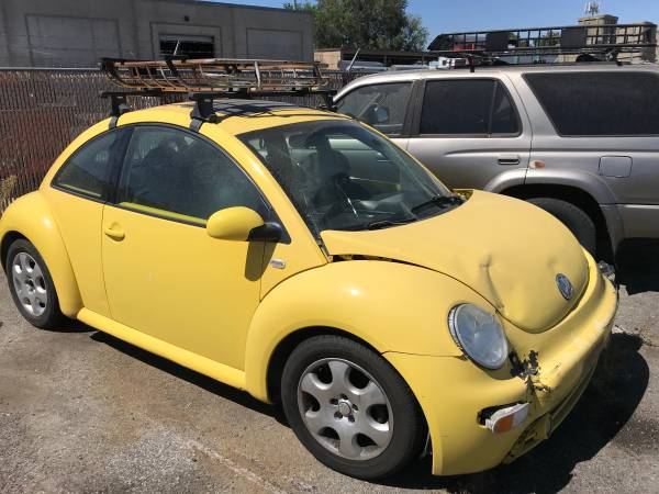 Photo 2002 VW Beetle Bug Parts - $300 (Cottonwood Heights)