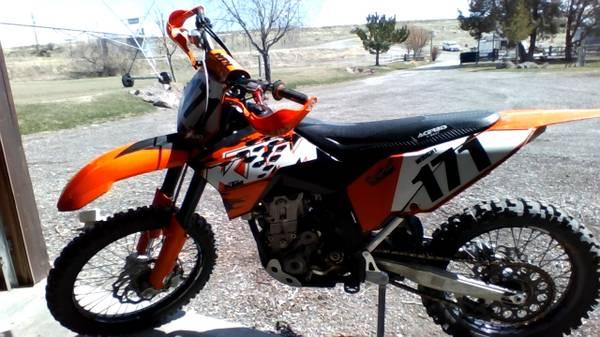 Photo 2008 KTM 450 SX-F Dirt Bike Great Bike - $3,500 (Rexburg Sunnydale Area)