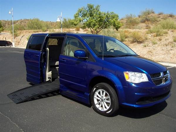 Photo 2013 Dodge Grand Caravan SXT Wheelchair Handicap Mobility Van - $22,500 (BEST BUY - AZ Mobility Center)