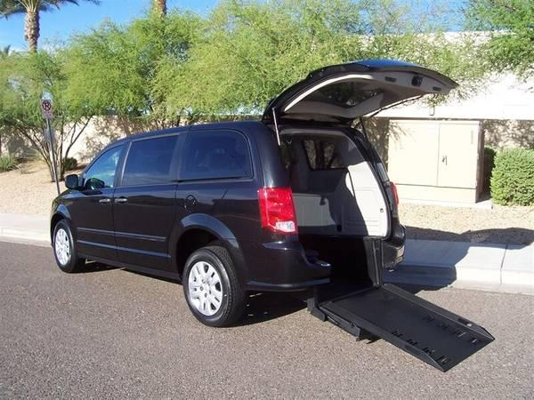 Photo 2015 Dodge Grand Caravan SE Wheelchair Handicap Mobility Van - $26,900 (BEST BUY - AZ Mobility Center)