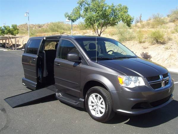 Photo 2015 Dodge Grand Caravan SXT Wheelchair Handicap Mobility Van - $22,900 (BEST BUY - AZ Mobility Center)
