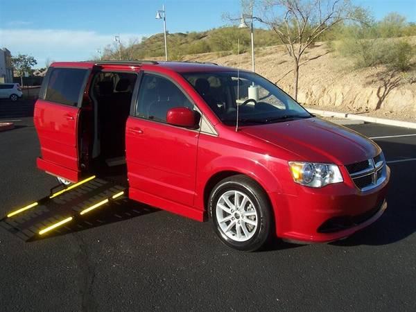 Photo 2016 Dodge Grand Caravan SXT Wheelchair Handicap Mobility Van - $21,900 (BEST BUY - AZ Mobility Center)
