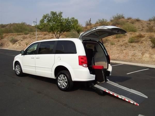 Photo 2017 Dodge Grand Caravan SE Wheelchair Handicap Mobility Van - $22,900 (BEST BUY - AZ Mobility Center)