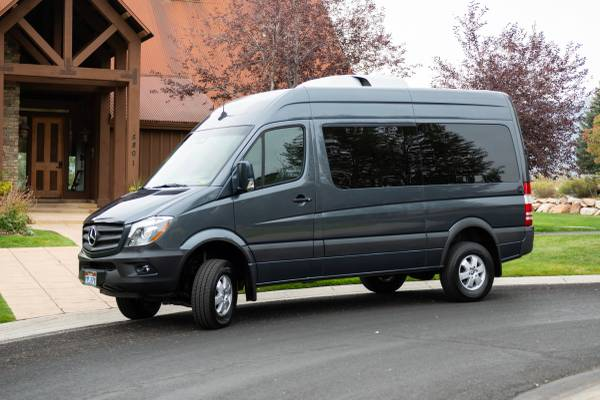 Photo 2018 Mercedes 2500 Passenger Van 4x4 - $60,000 (Eden)
