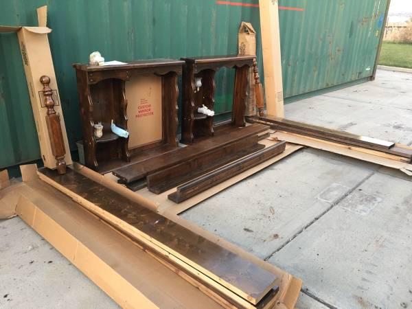 Photo 2 Wood  Dreams Waterbed Frames - $160