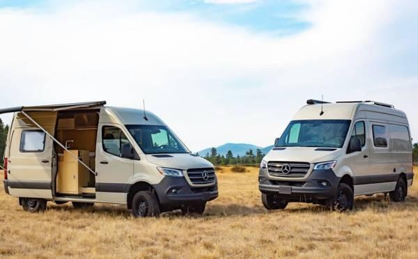Photo 4x4 Sprinter Conversion Vans In Stock - $165,000 (Salt Lake City)