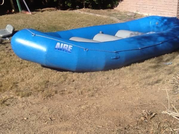 Photo AIRE 143E white water raft with 3 thwarts - $3000 (Scottsdale Az)