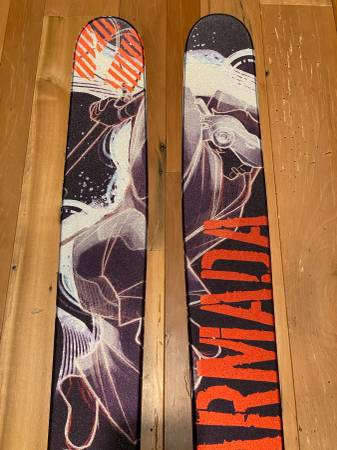 Photo Armada JJ 185 Skis, Dynafit Radical FT Bindings  BD Skins - $500 (Sandy, UT)