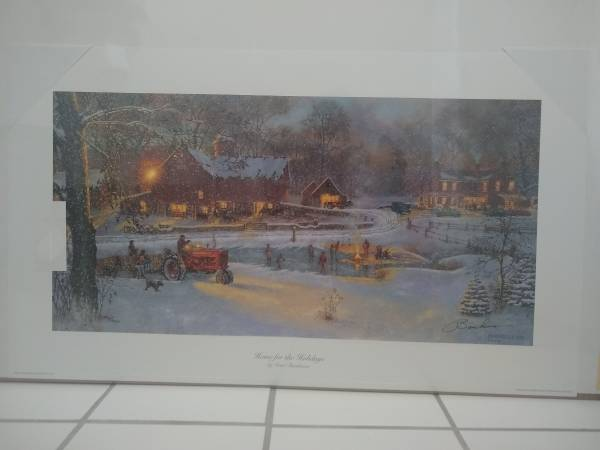Photo David Barnhouse Home for The Holidays Signed Limited Edition. - $95 (South Jordan)
