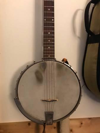Photo Gibson RB170 open back banjo - $1,100 (Draper)